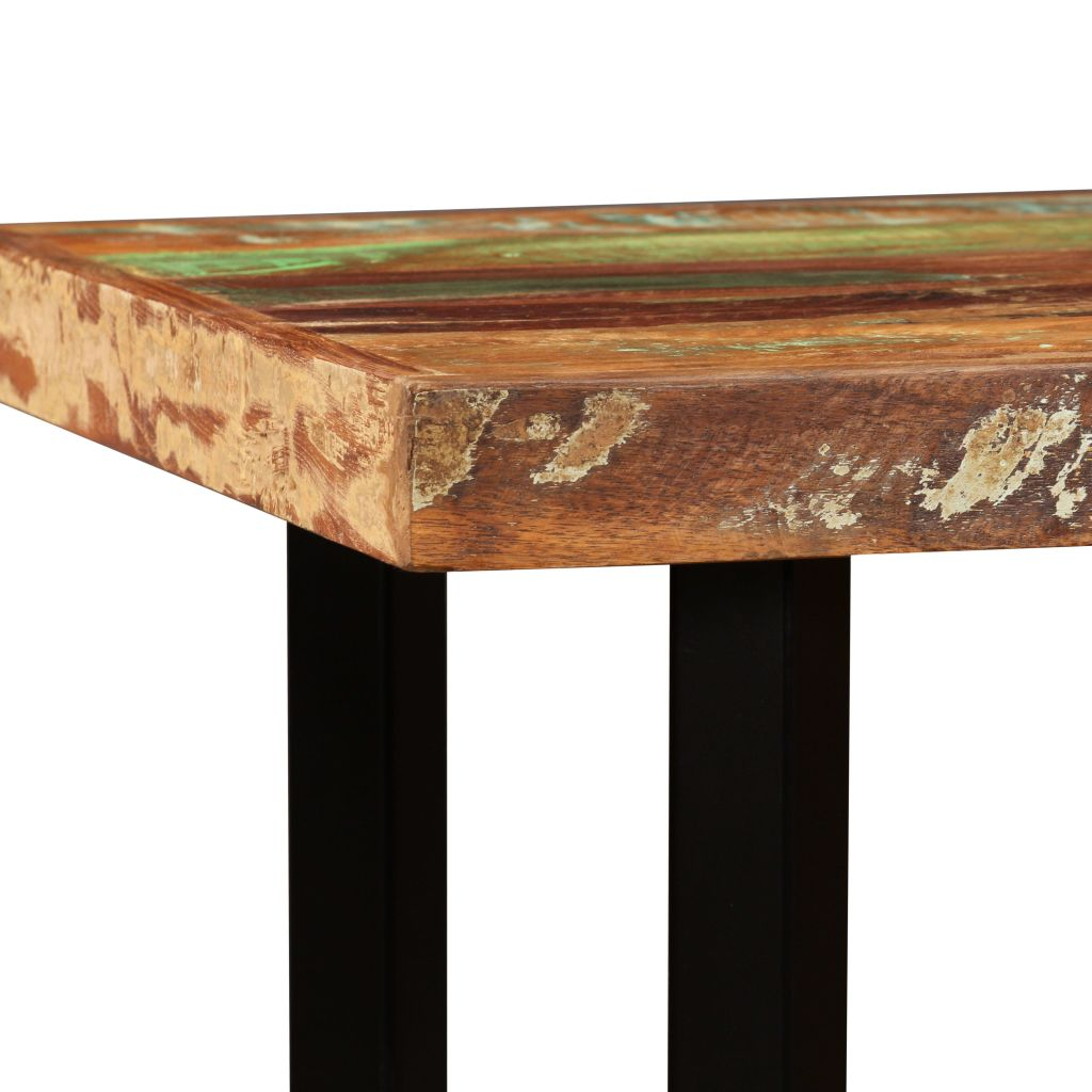 Bar Table 120x60x107 cm Solid Reclaimed Wood 5