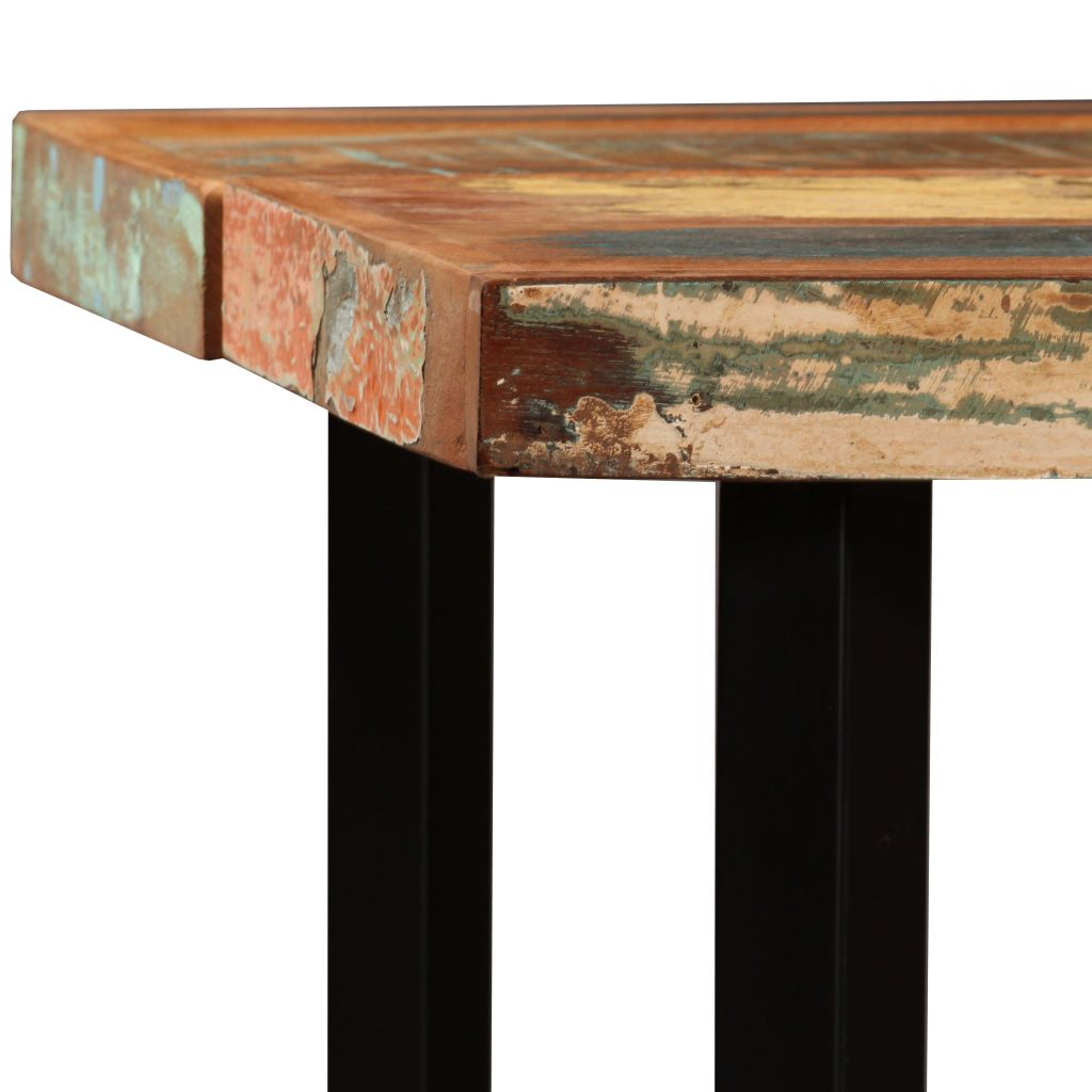 Bar Table 150x70x107 cm Solid Reclaimed Wood 3