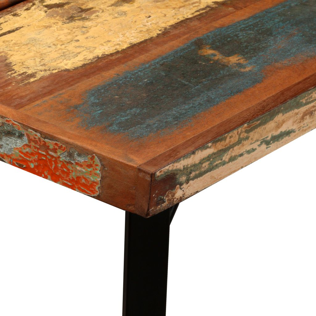 Bar Table 150x70x107 cm Solid Reclaimed Wood 5