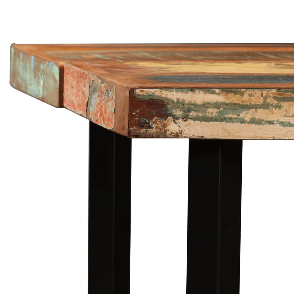 Bar Table 180x70x107 cm Solid Reclaimed Wood 3