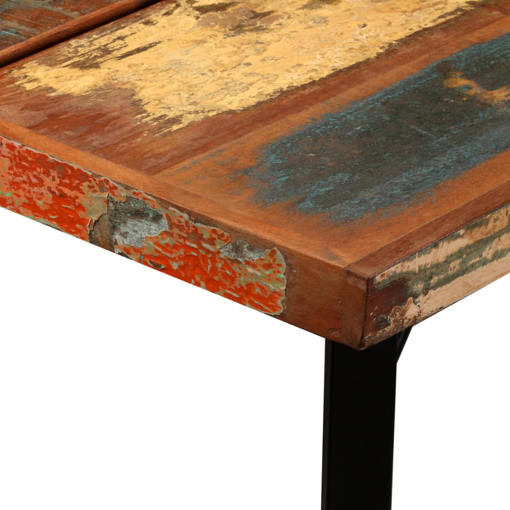 Bar Table 180x70x107 cm Solid Reclaimed Wood 5
