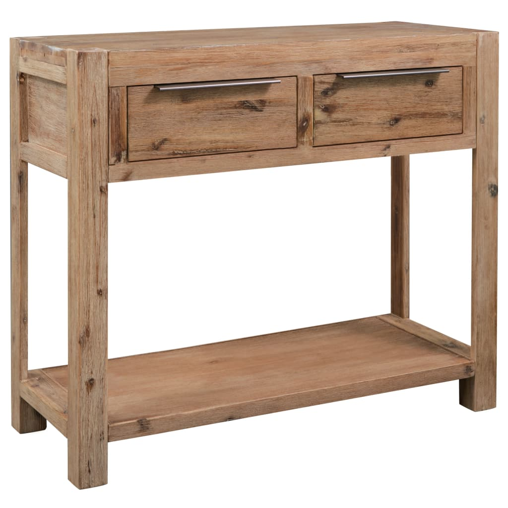 Console Table 82x33x73 cm Solid Acacia Wood 1