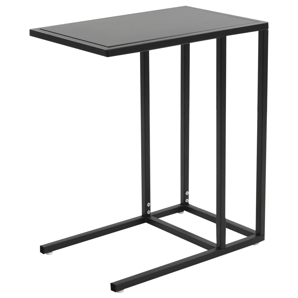 C-Table Metal 35x55x65 cm Black 1