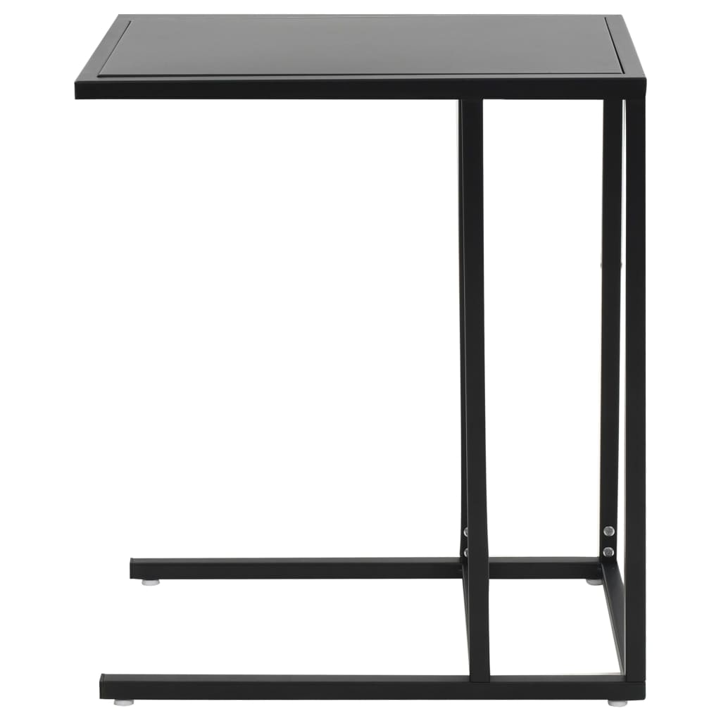 C-Table Metal 35x55x65 cm Black 2