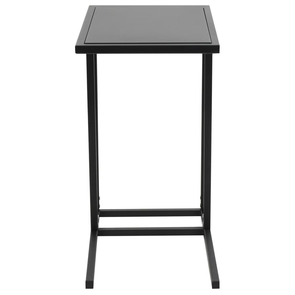 C-Table Metal 35x55x65 cm Black 3