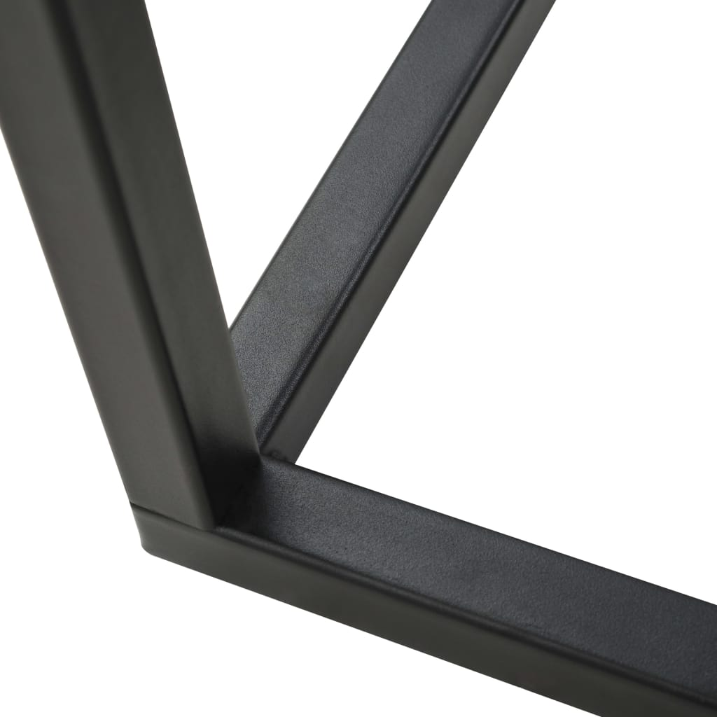 C-Table Metal 35x55x65 cm Black 7