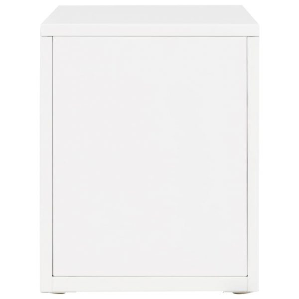 Filing Cabinet with 5 Drawers Metal 28x35x35 cm White 6