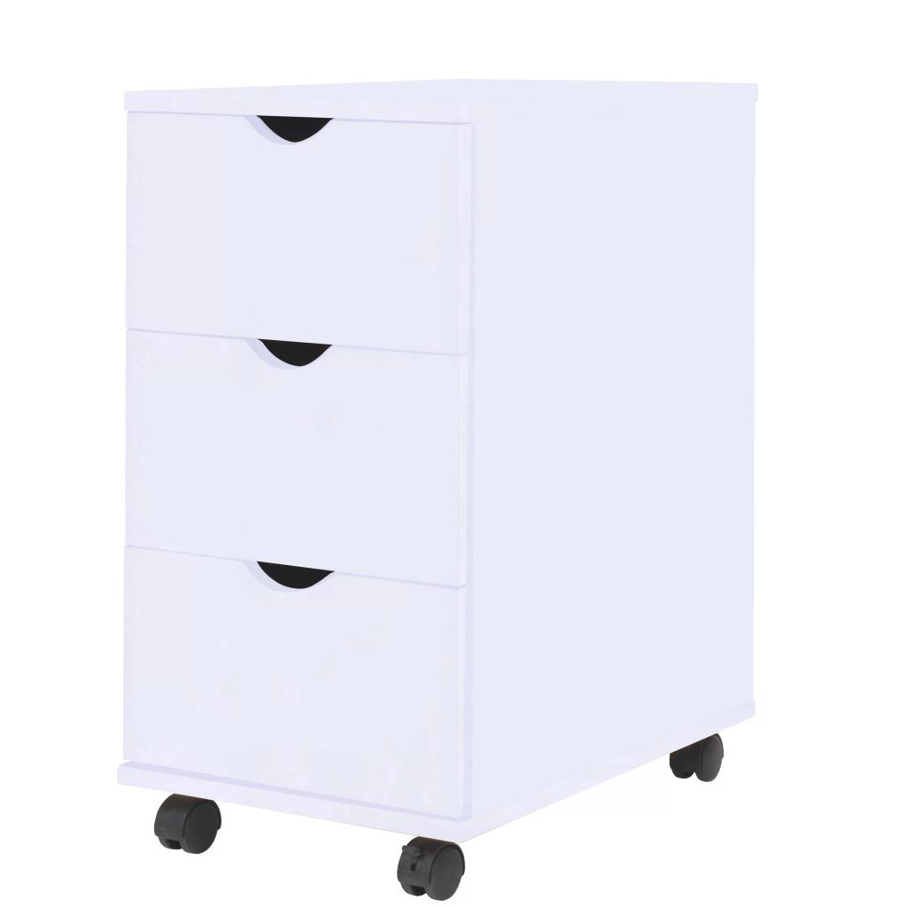 Drawer Unit 33x45x60 cm White 1