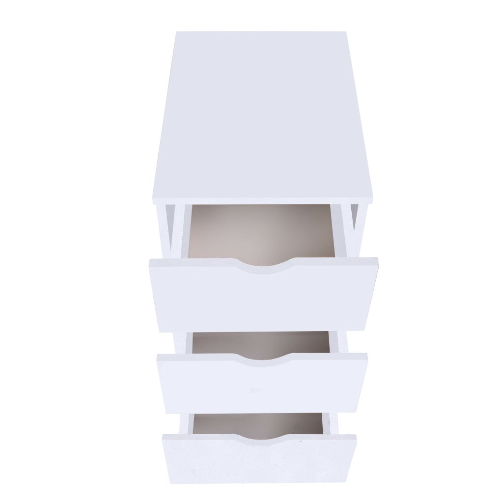 Drawer Unit 33x45x60 cm White 3
