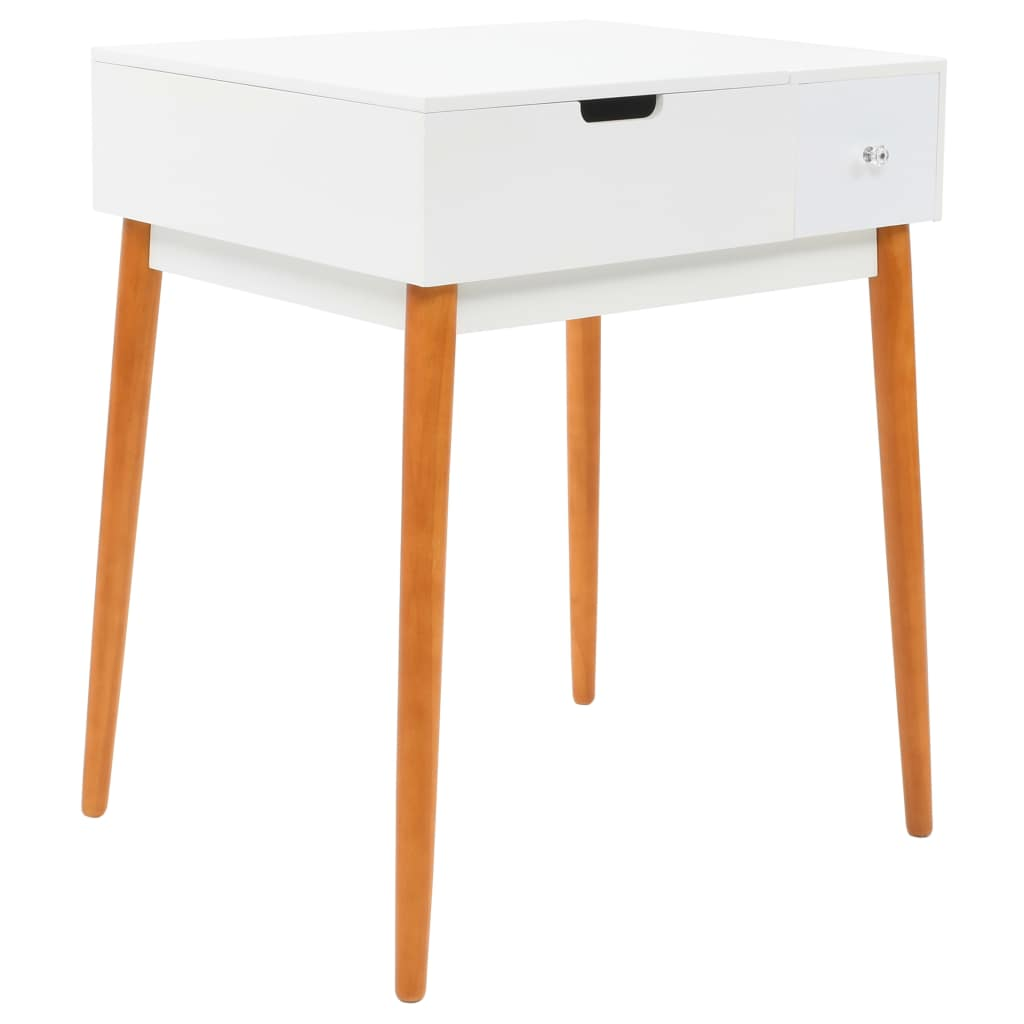 Dressing Table with Mirror MDF 60x50x86 cm 2