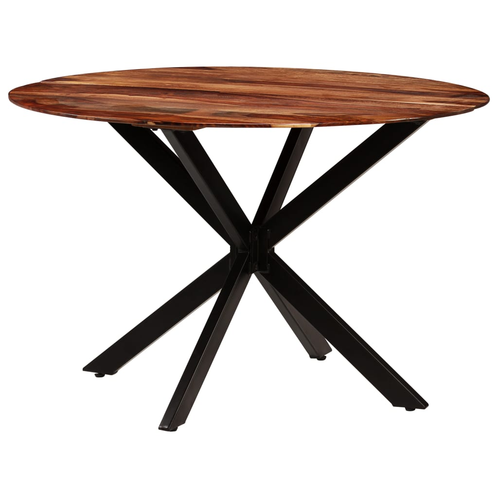 Dining Table Solid Sheesham Wood 120×77 cm 3