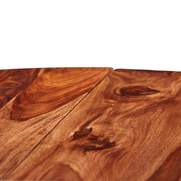 Dining Table Solid Sheesham Wood 120×77 cm 6