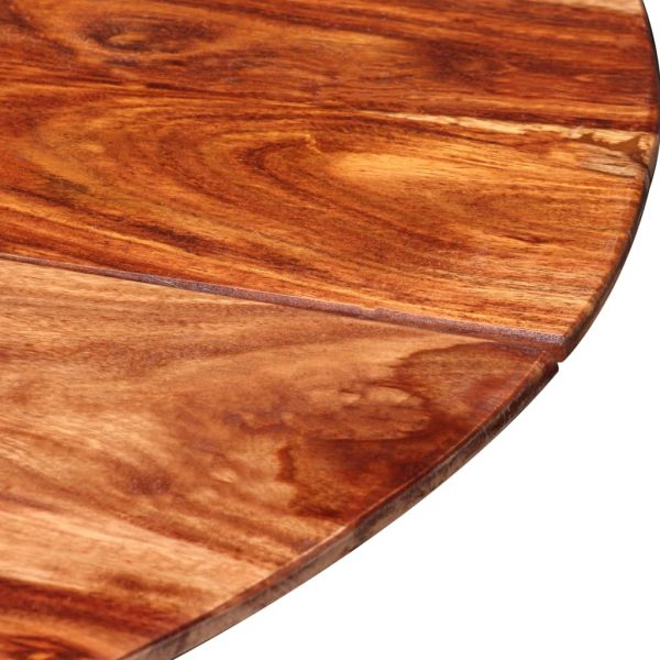 Dining Table Solid Sheesham Wood 120×77 cm 9