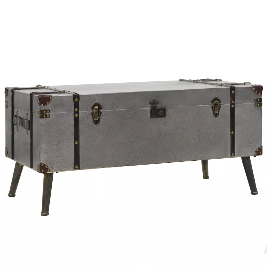 Coffee Table MDF and Aluminium 102x51x47