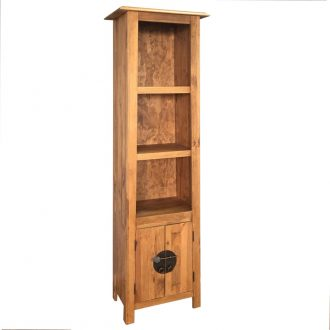 Freestanding Bathroom Cabinet Solid Recycled Pinewood