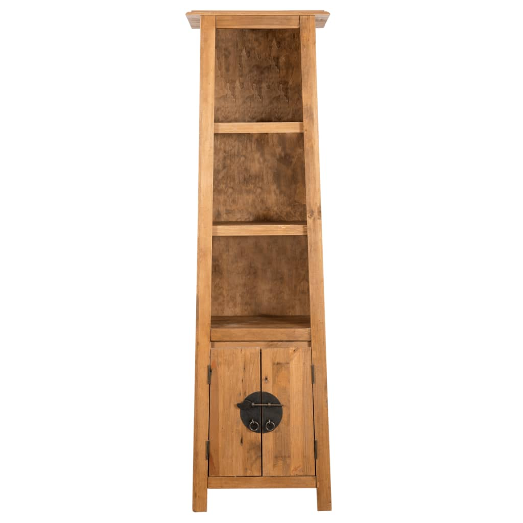 Freestanding Bathroom Cabinet Solid Recycled Pinewood 4