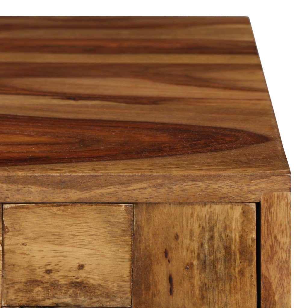 Coffee Table Solid Sheesham Wood with Honey Finish 110x50x37 cm 5