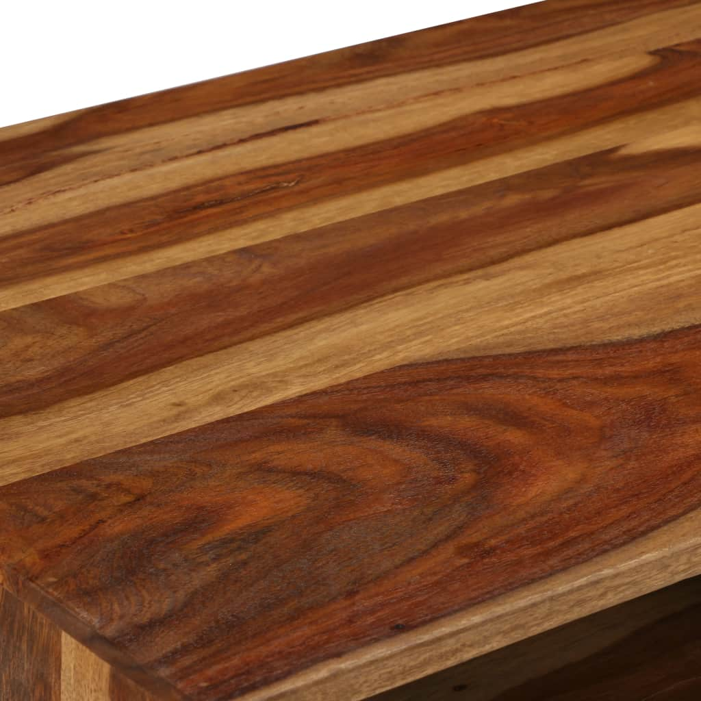 Coffee Table Solid Sheesham Wood with Honey Finish 110x50x37 cm 8