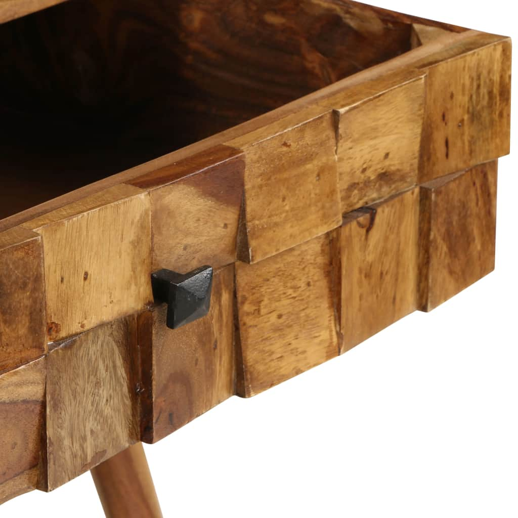 Coffee Table Solid Sheesham Wood with Honey Finish 110x50x37 cm 10