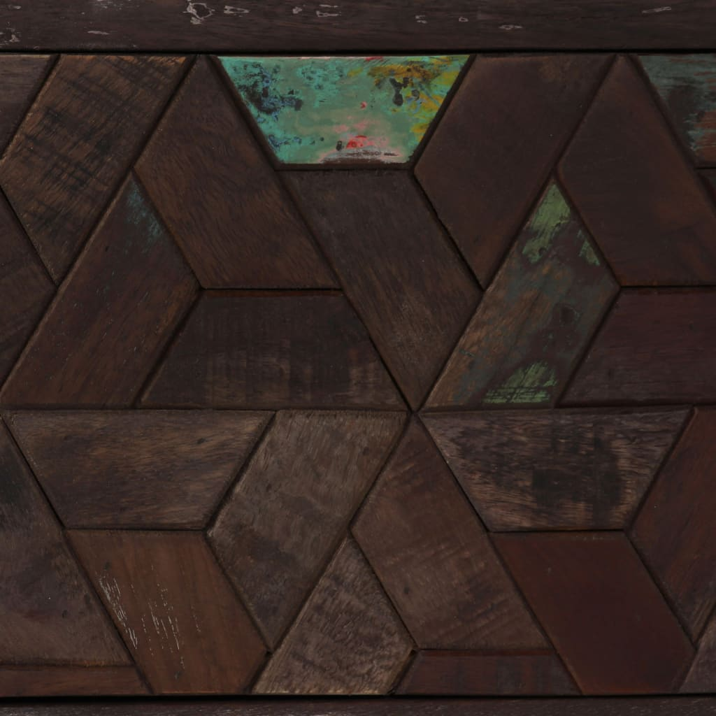TV Cabinet Solid Reclaimed Wood 140x30x45 cm 5
