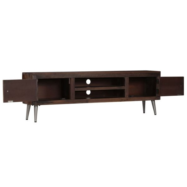 TV Cabinet Solid Reclaimed Wood 140x30x45 cm 7