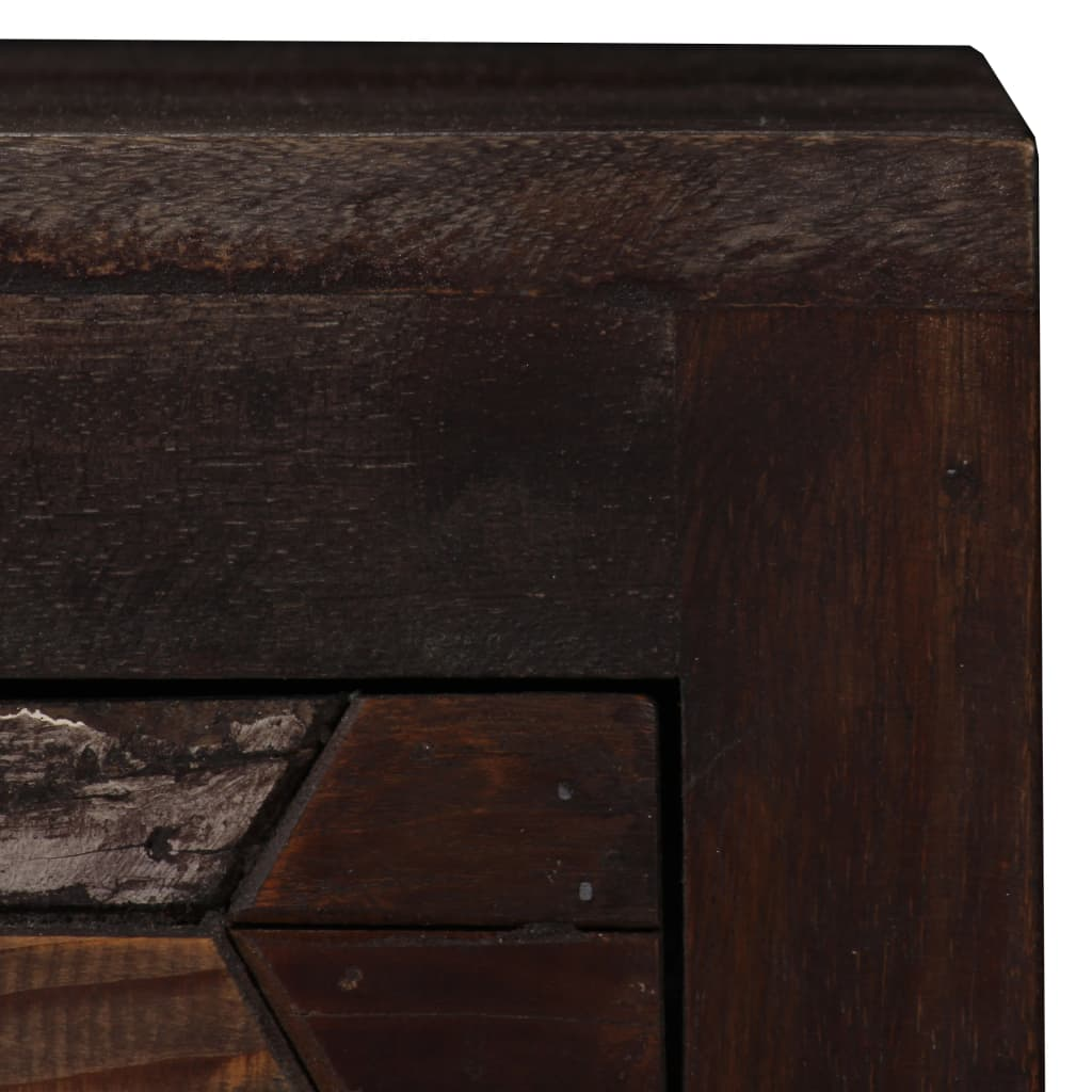 Bedside Cabinet Solid Reclaimed Wood 40x30x50 cm 7