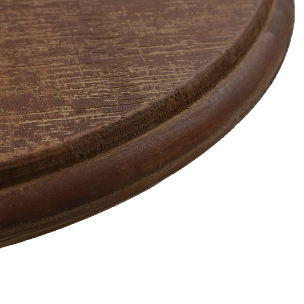 End Table Solid Fir Wood 40×64 cm Brown 4