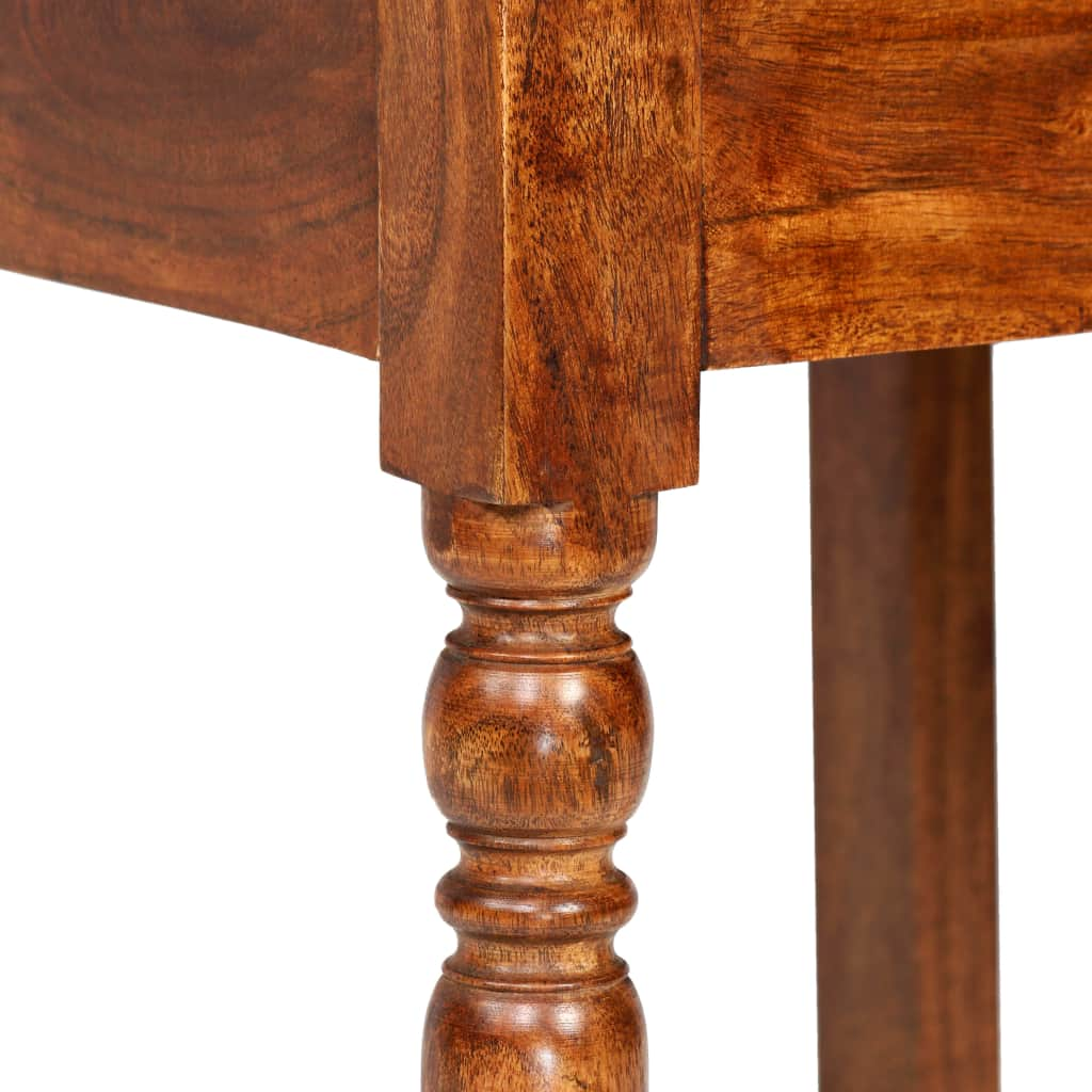 Dining Chairs 4 pcs Solid Wood with Sheesham Finish Classic 6