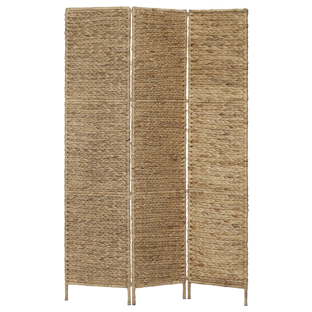 3-Panel Room Divider 116×160 cm Water Hyacinth 1