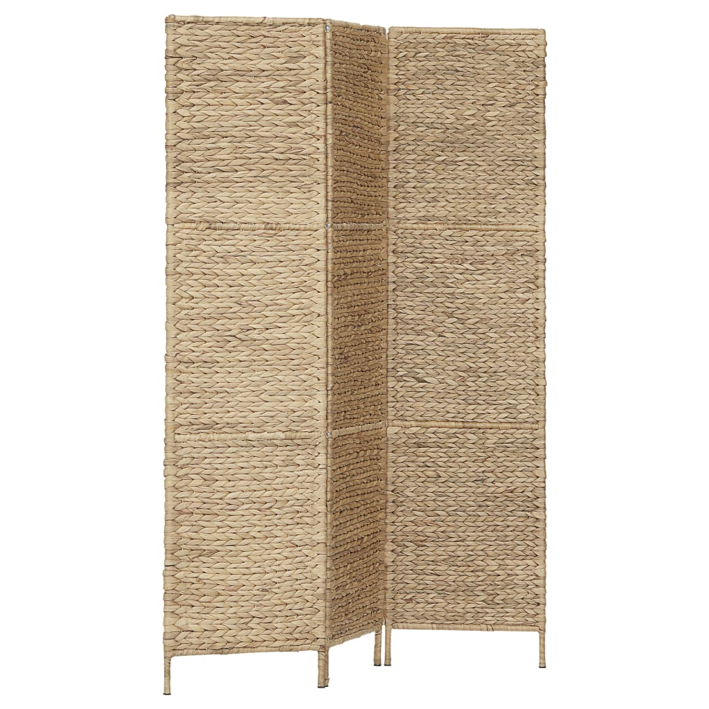 3-Panel Room Divider 116×160 cm Water Hyacinth 2