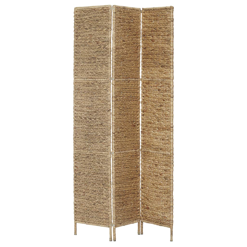3-Panel Room Divider 116×160 cm Water Hyacinth 3
