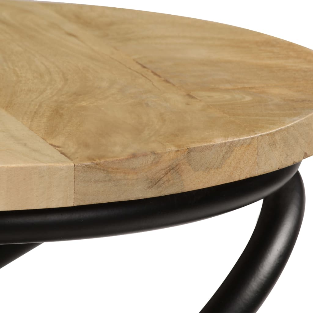 End Table Solid Mango Wood 40×50 cm 6