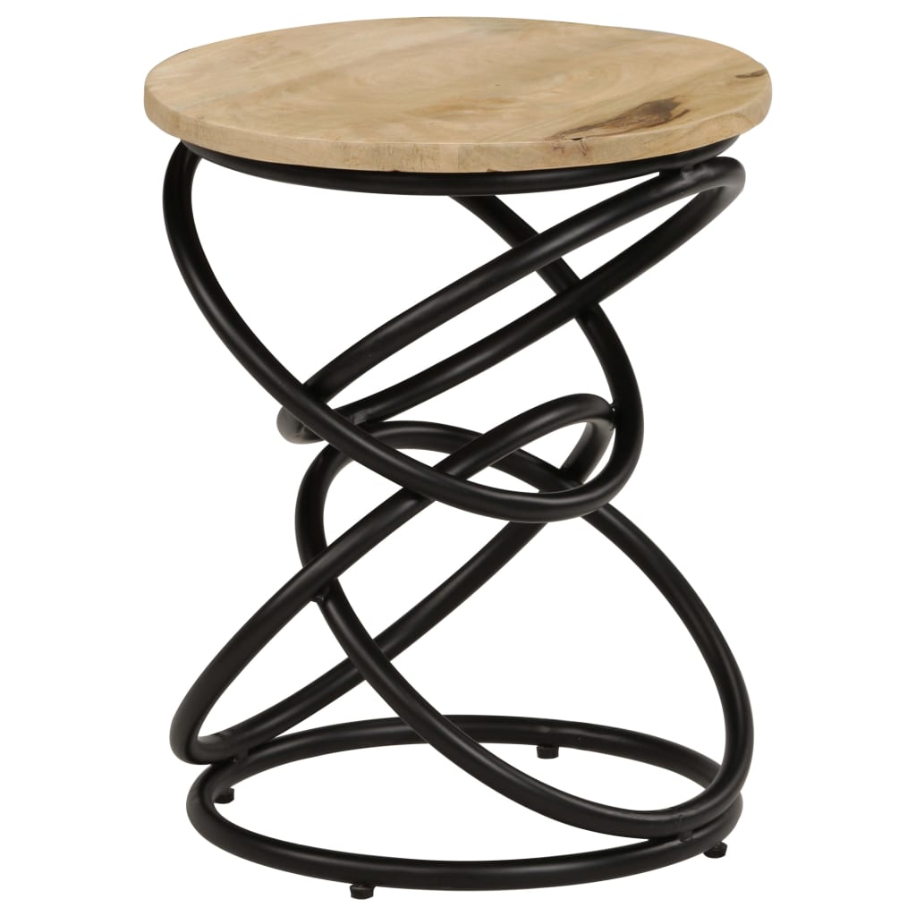 End Table Solid Mango Wood 40×50 cm 9