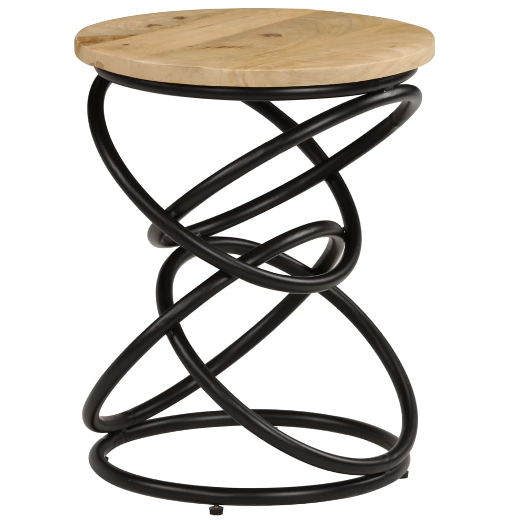 End Table Solid Mango Wood 40×50 cm 10
