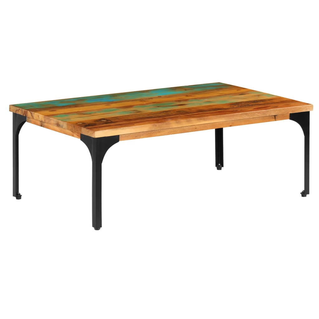 Coffee Table 100x60x35 cm Solid Reclaimed Wood