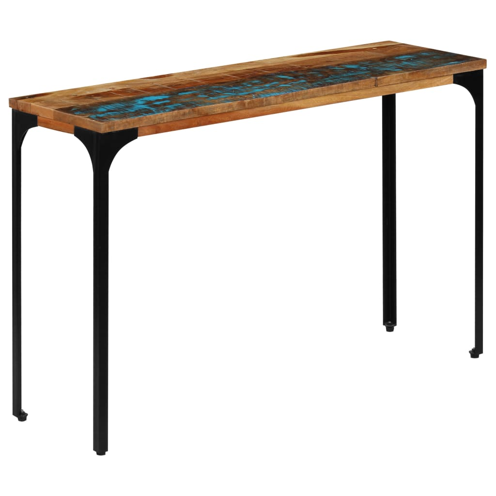 Console Table 120x35x76 cm Solid Reclaimed Wood 1