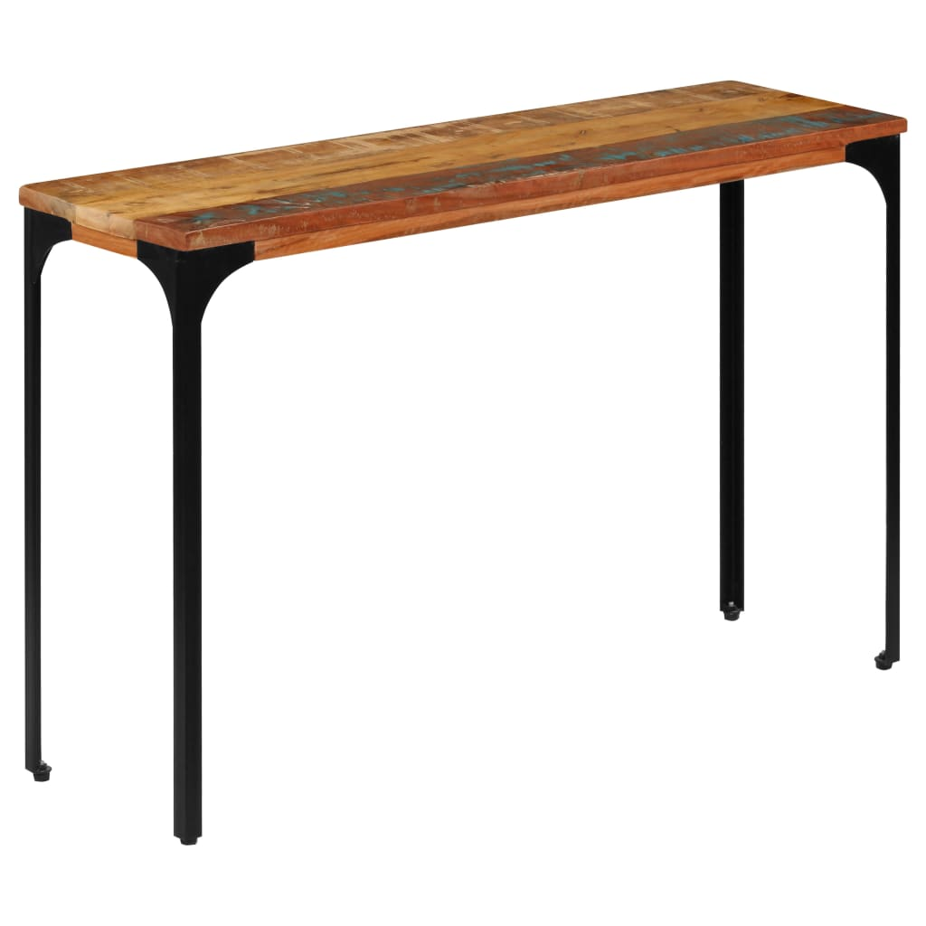 Console Table 120x35x76 cm Solid Reclaimed Wood 10