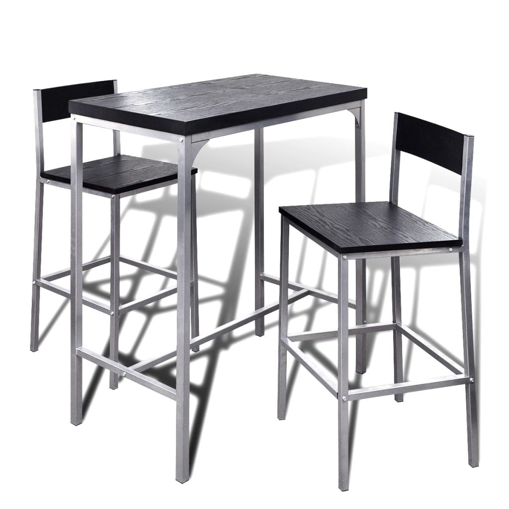 Counter Height Breakfast Bar Set 1