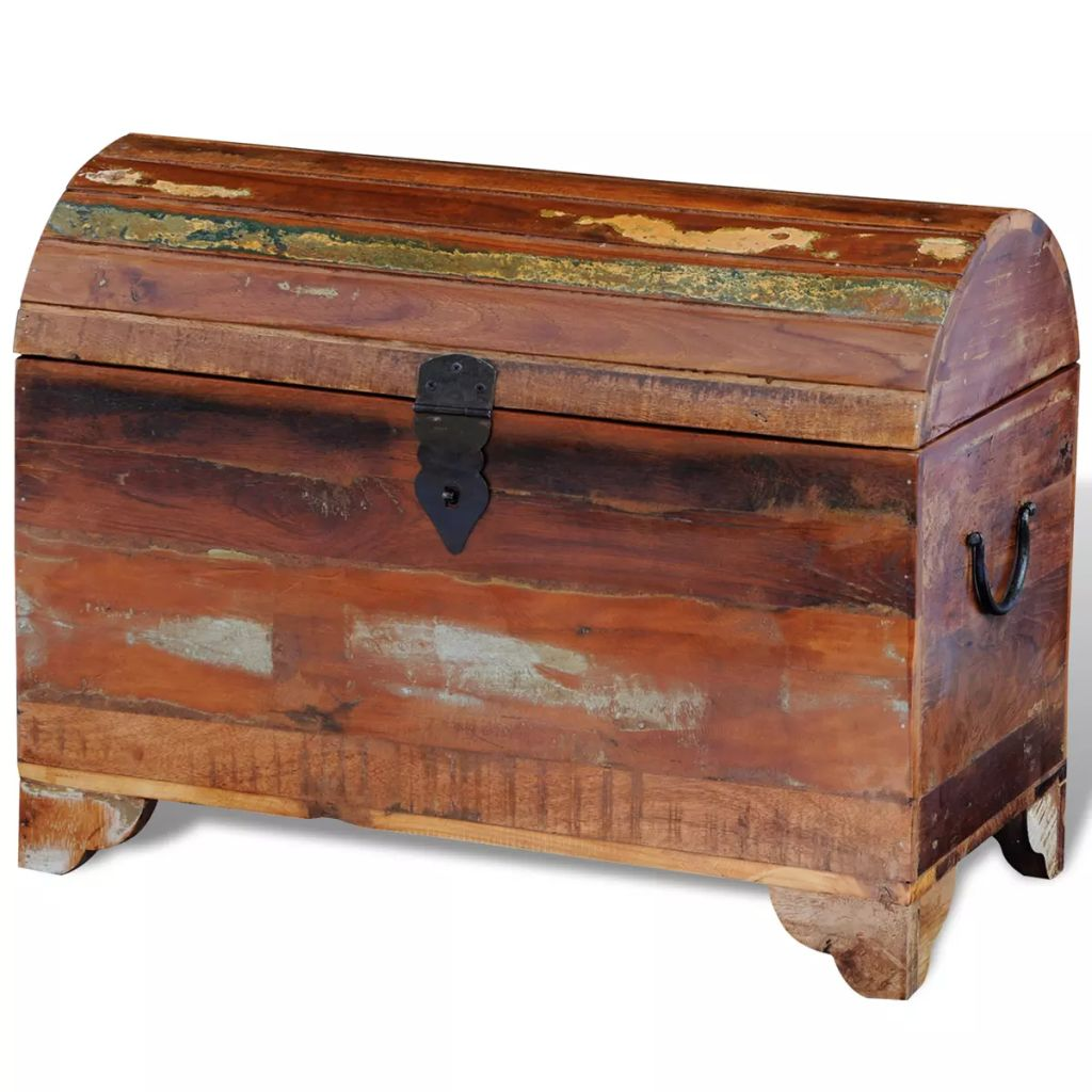 Reclaimed Storage Chest Solid Wood 1