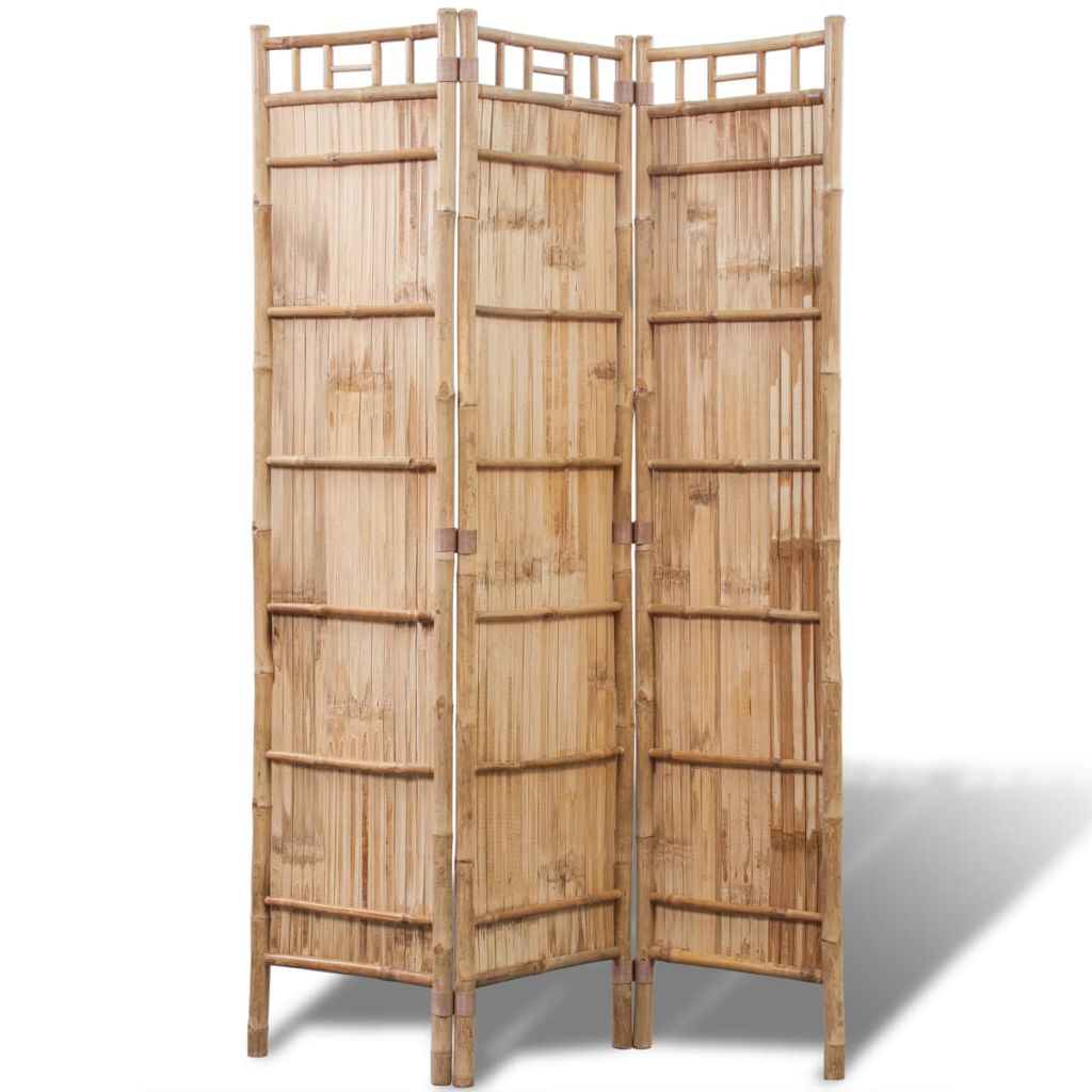 3-Panel Bamboo Room Divider 3