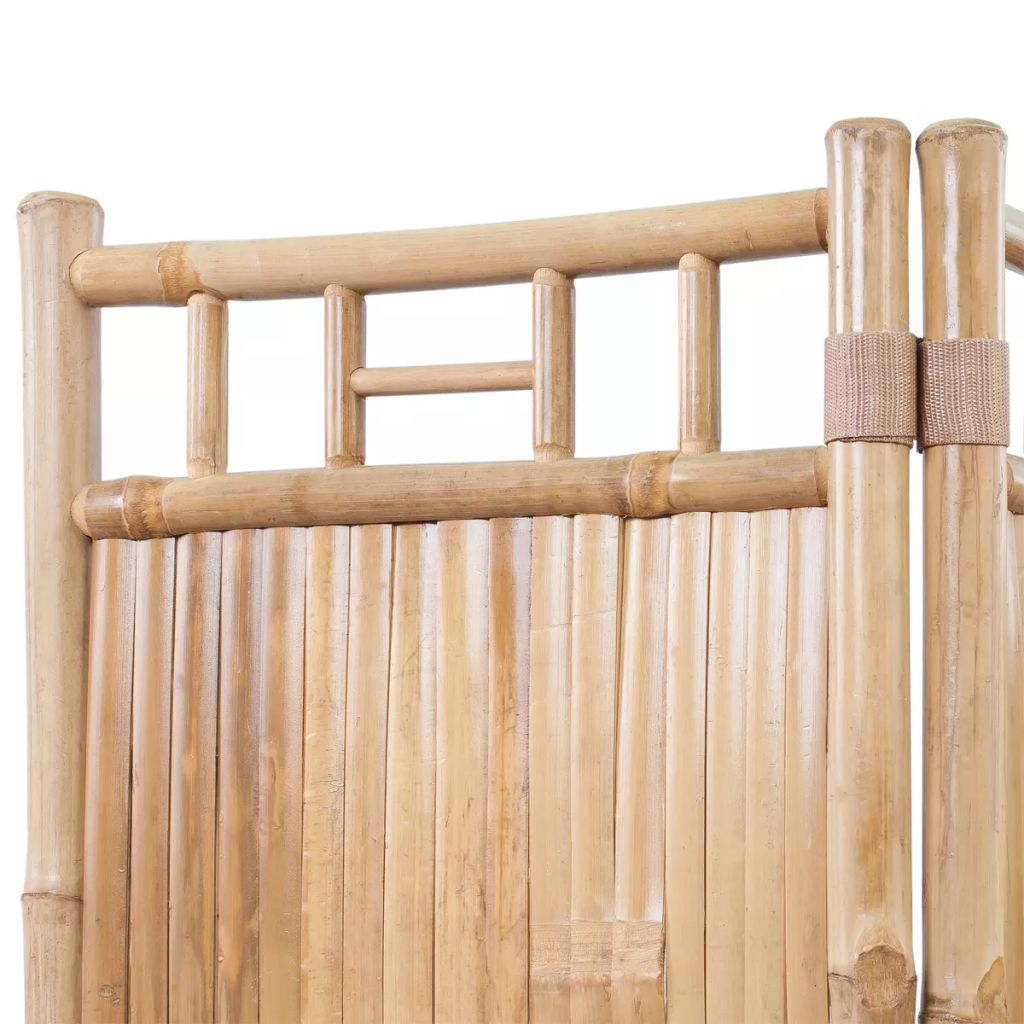 3-Panel Bamboo Room Divider 4