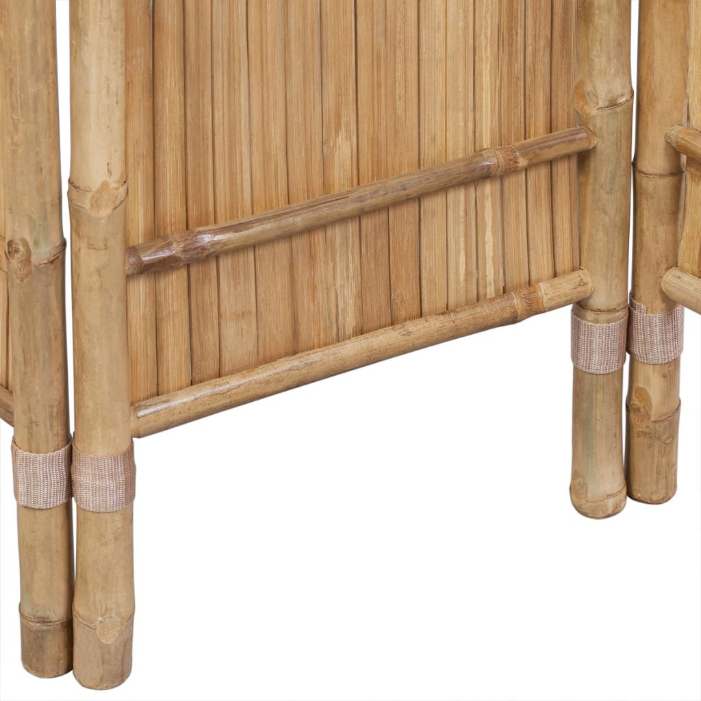 3-Panel Bamboo Room Divider 5