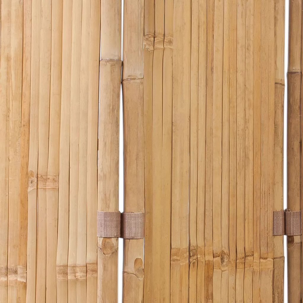 3-Panel Bamboo Room Divider 6