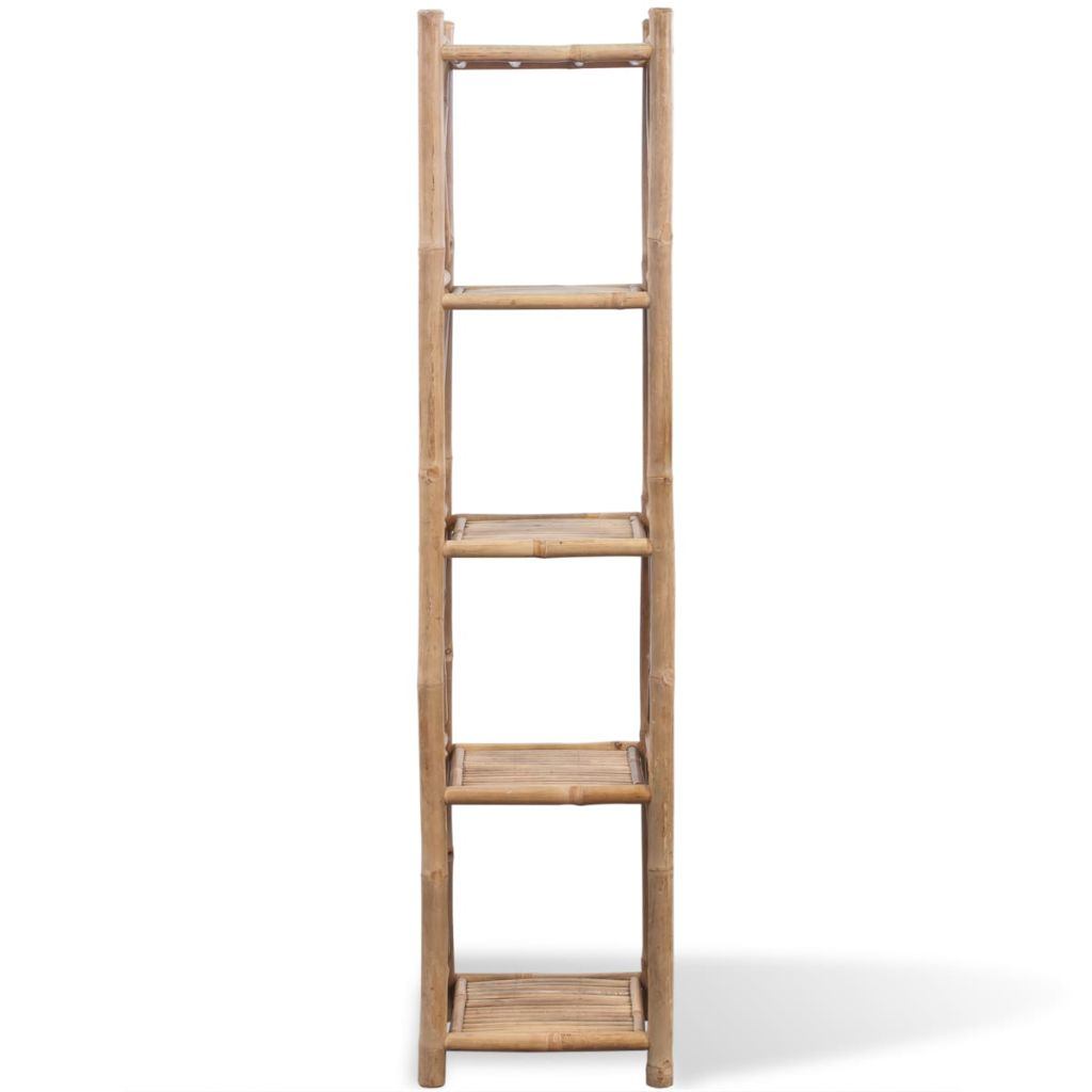 5-Tier Square Bamboo Shelf 2
