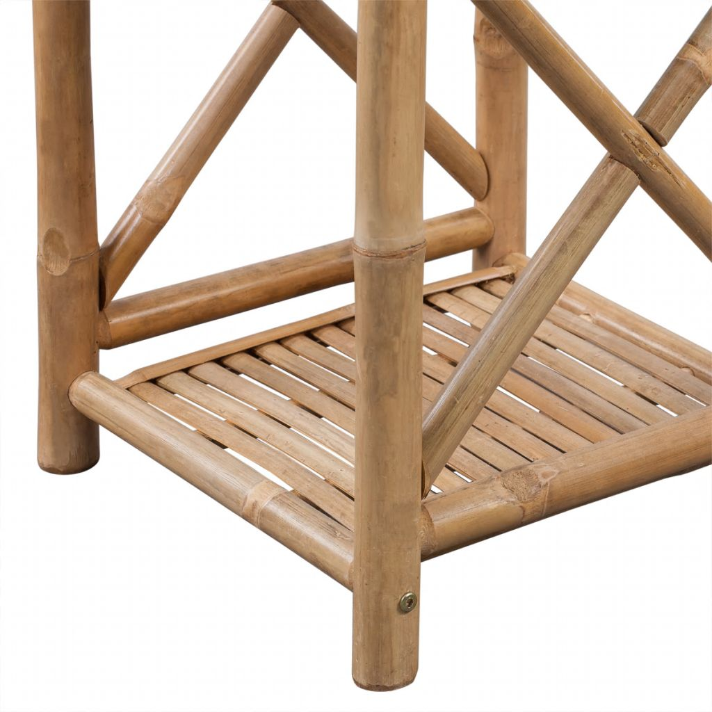 5-Tier Square Bamboo Shelf 4
