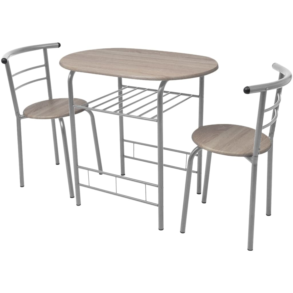 Breakfast Bar Set MDF 2