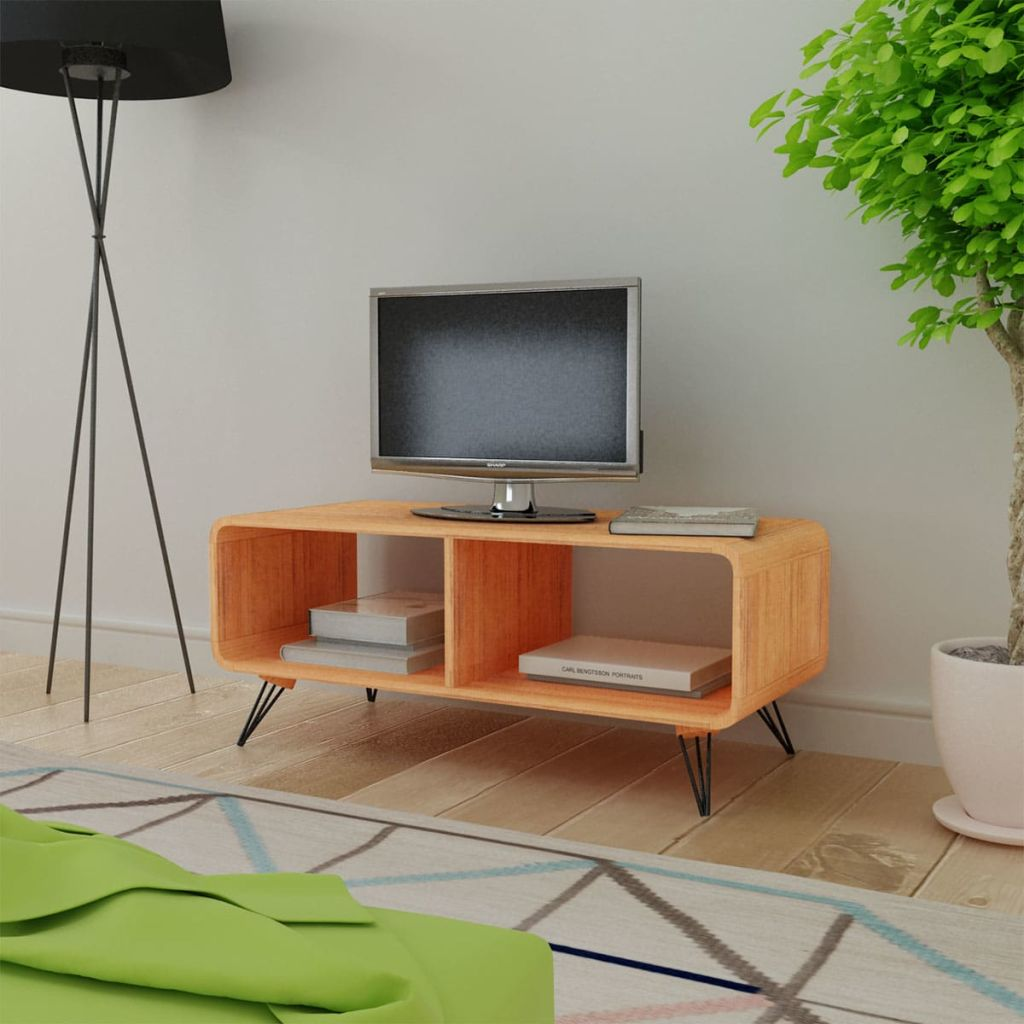 TV Cabinet 90x39x38.5 cm Wood Brown