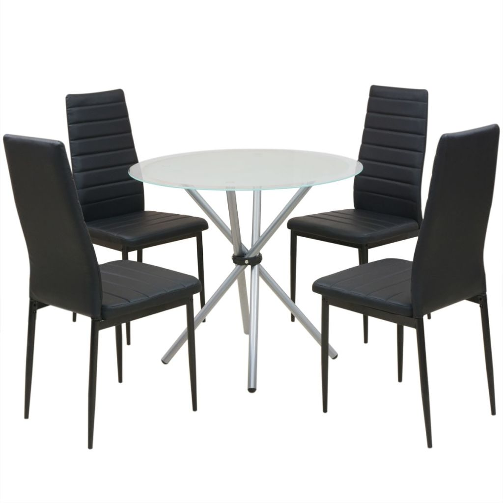 Five Piece Dining Table and Chair Set 1