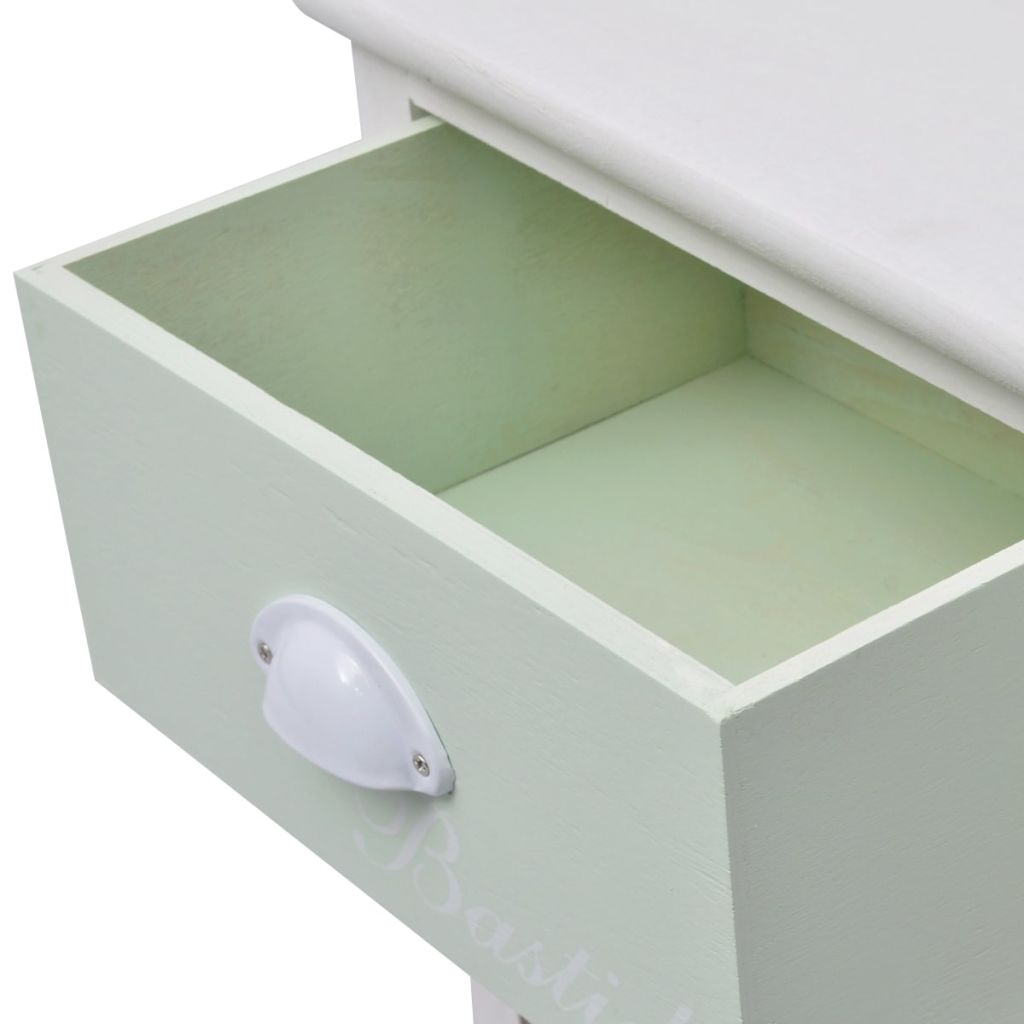 French Storage Cabinet 5 Drawers Wood 5