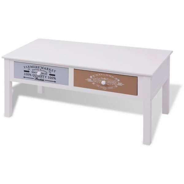 French Coffee Table Wood 2
